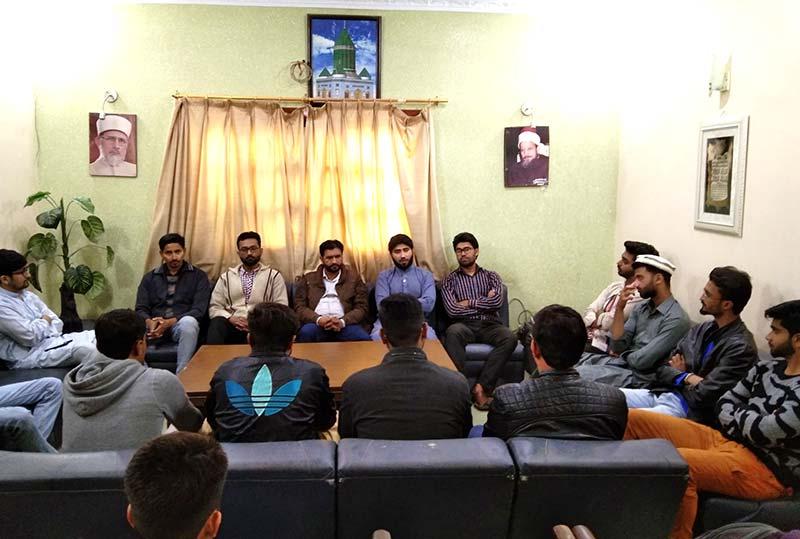 مصطفوی سٹوڈنٹس مومنٹ کراچی کا اجلاس