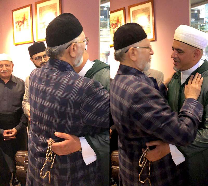 منہاج القرآن انٹرنیشنل ساؤتھ افریقہ کے رہنماء حافظ محمود خطیب کی مکۃ المکرمہ میں شیخ الاسلام سے ملاقات