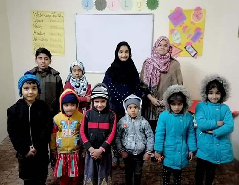 ایگرز جہلم کے زیراہتمام بچوں کے لیے ونٹر کیمپ کا انعقاد