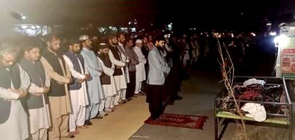 منہاج یوتھ لیگ کے وفد کی ساجد محمود بھٹی کے والد گرامی کے جنازہ میں شرکت