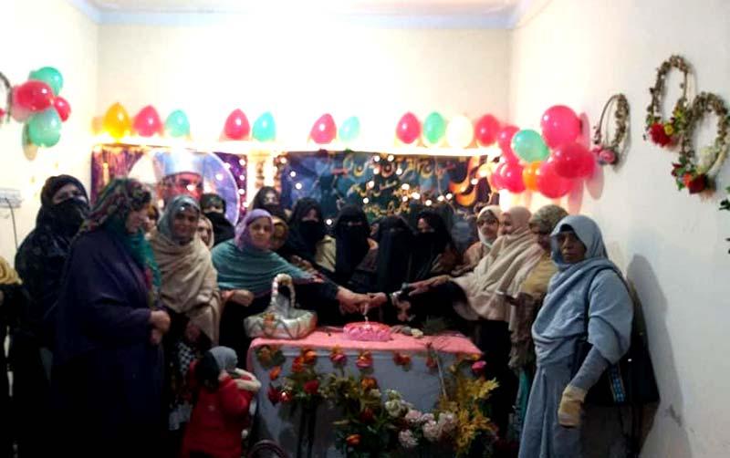 منہاج القرآن ویمن لیگ پشاور کے زیراہتمام 31 ویں یوم تاسیس کی تقریب