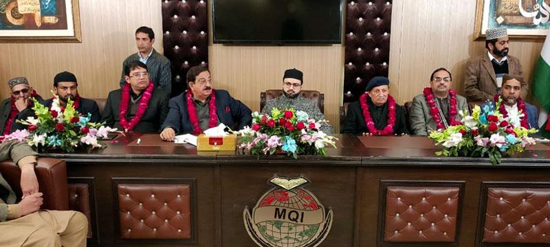 عمرہ کی سعادت حاصل کرنیوالے منہاج القرآن کے رہنماؤں کے اعزاز میں تقریب