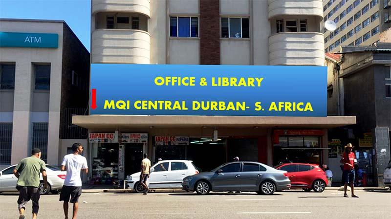 سنٹرل ڈربن میں منہاج القرآن کے آفس اور اسلامک لائبریری کا قیام
