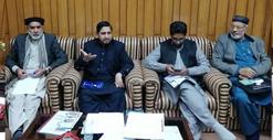 منہاج القرآن لاہور کی ایگزیکٹو کونسل کا اجلاس، حافظ غلام فرید نے صدارت کی