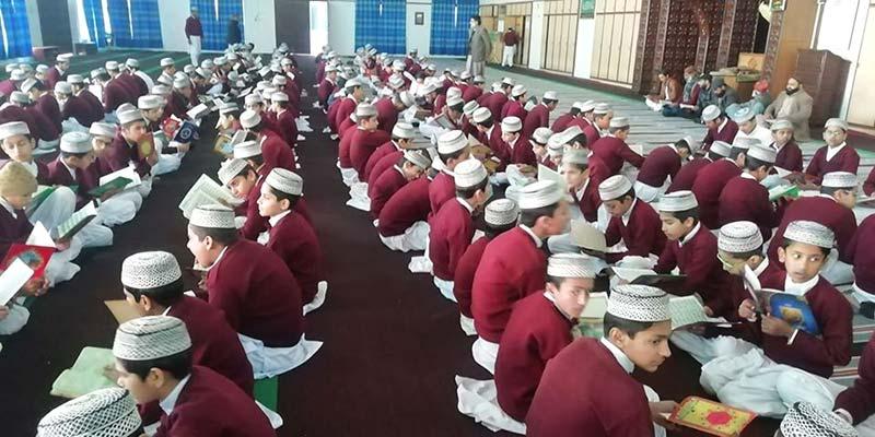 یوم کشمیر پر تحفیظ القرآن انسٹی ٹیوٹ میں دعائیہ تقریب
