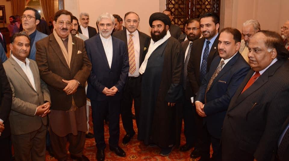ایران کے قومی دن پر منعقدہ تقریب میں پاکستان عوامی تحریک کے وفد کی شرکت