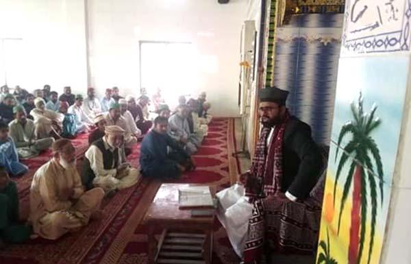 منہاج القرآن گھوٹکی سندھ کے زیراہتمام درس عرفان القرآن