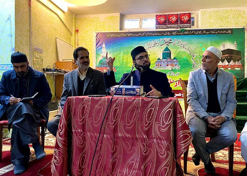 منہاج القرآن انٹرنیشنل اٹلی کے عہدیداروں و کارکنان کی ڈاکٹر حسن محی الدین قادری سے ملاقات