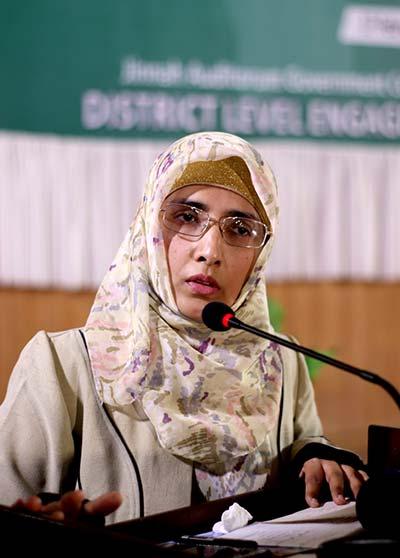 منہاج ویمن لیگ کی یونیورسٹی آف فیصل آباد میں منعقدہ نیشنل کانفرنس میں شرکت