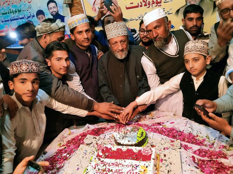دارالفرید القادریہ جھنگ میں شیخ الاسلام کی 69ویں سالگرہ کی تقریب