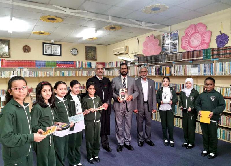 منہاج القرآن انٹرنیشنل کویت اعلیٰ سطحی وفد کا پاکستان انگلش سکول، حولی، کویت کا دورہ