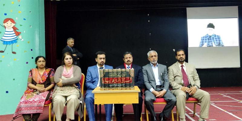 منہاج القرآن انٹرنیشنل کویت اعلیٰ سطحی وفد کا گلف انگلش سکول، فحاحیل، کا دورہ