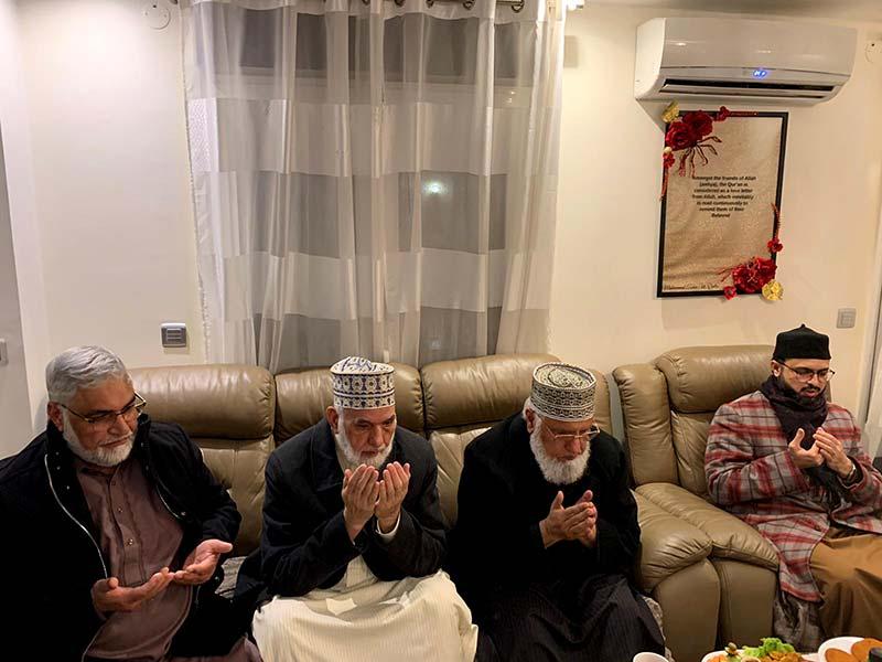 ڈاکٹر حسن محی الدین قادری کا منہاج القرآن فرانس کے سابقہ صدر چوہدری ظفر سے اظہار تعزیت
