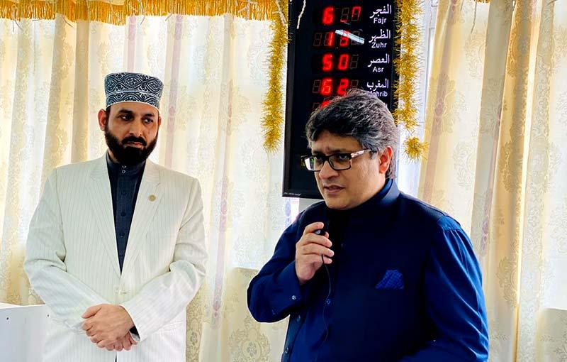 قونصل جنرل آف پاکستان بلال احمد بٹ کا ادارہ منہاج القرآن ہانگ کانگ کا وزٹ