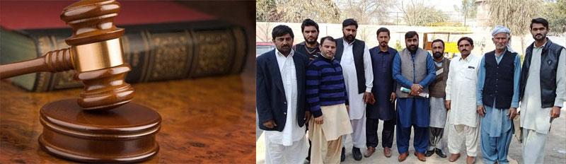 انسداد دہشتگردی عدالت سرگودھا کا عوامی تحریک کے 17کارکنان کو باعزت بری کرنے کا حکم