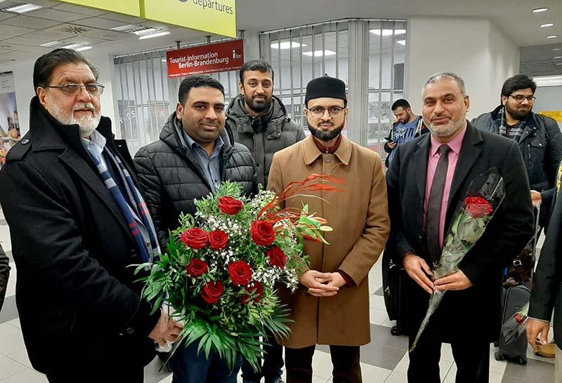 ڈاکٹر حسن محی الدین قادری جرمنی پہنچ گئے