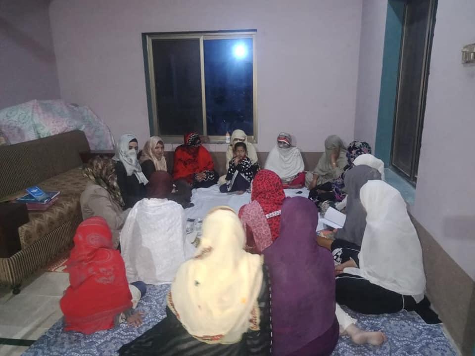 منہاج القرآن ویمن لیگ راجن پور کے مختلف تنظیمی وزٹ