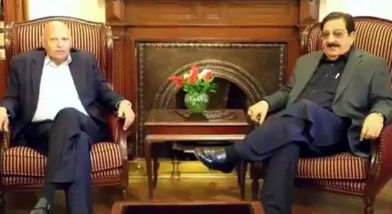 Khurram Nawaz Gandapur calls on Punjab Governor for treatment of Muhammad Sultan