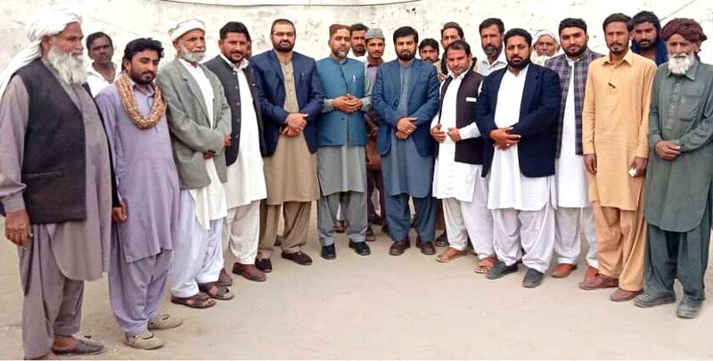 عوامی تحریک کے رہنماؤں کی بھکر جیل میں اسیران سے ملاقات