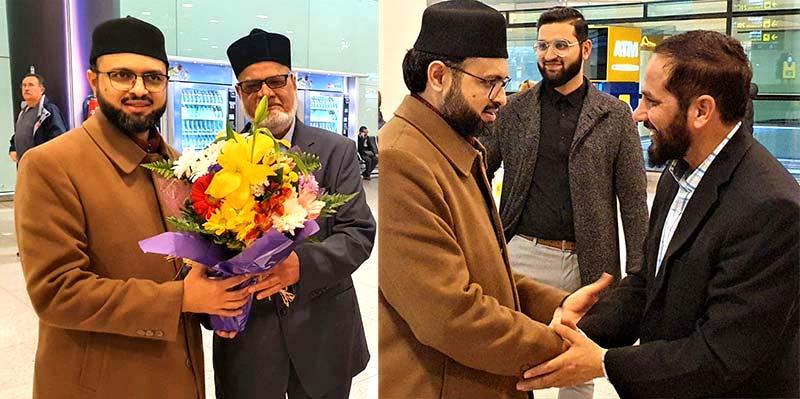 ڈاکٹر حسن محی الدین قادری سپین پہنچ گئے