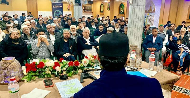 بارسلونا: شیخ الاسلام ڈاکٹر محمد طاہرالقادری کی 69ویں سالگرہ کی تقریب