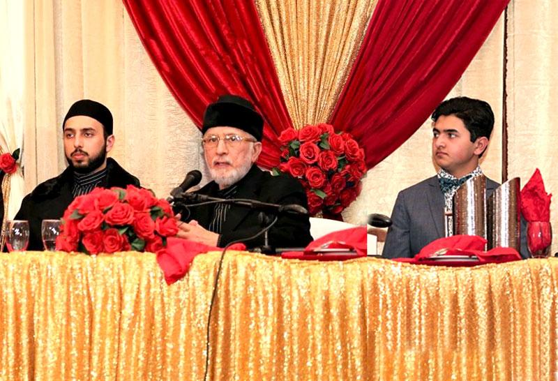 ٹورانٹو: کینیڈا میں شیخ الاسلام کی 69ویں سالگرہ کے سلسلہ میں قائد ڈے تقریب
