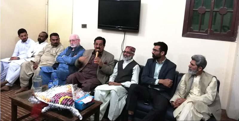 پاکستان عوامی تحریک کراچی کی کوآرڈینیشن کونسل کا اجلاس