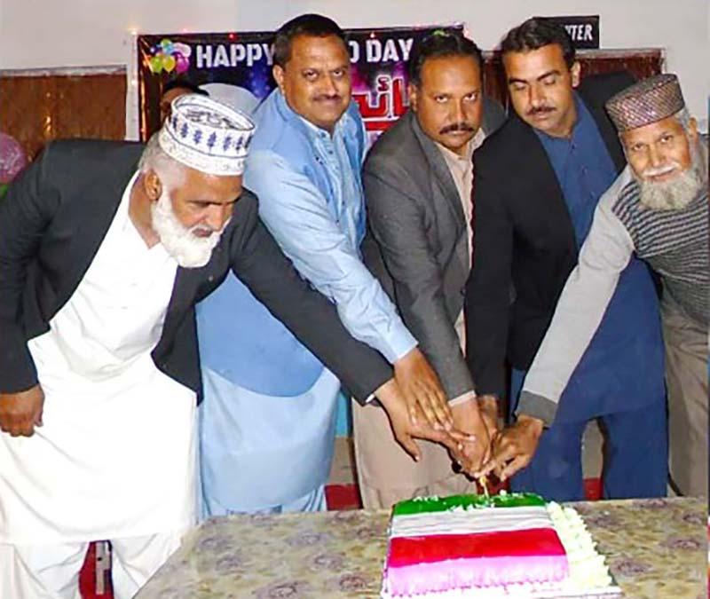 چکوال: شیخ الاسلام ڈاکٹر محمد طاہرالقادری کی سالگرہ کی تقریب