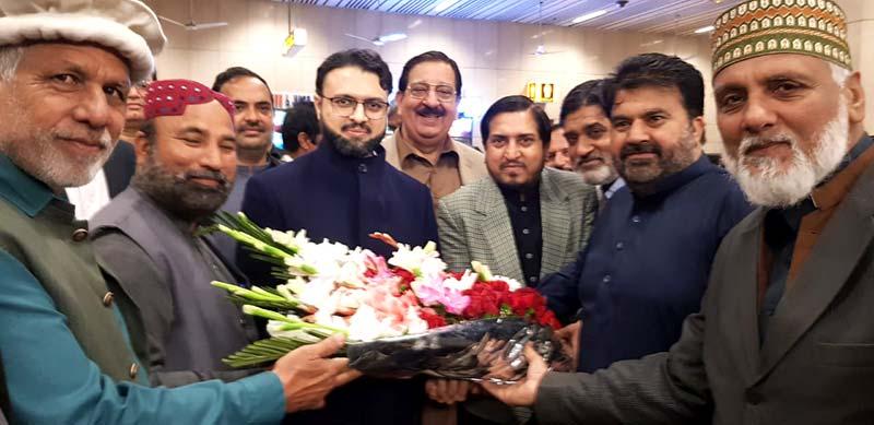 ڈاکٹر حسن محی الدین قادری دورہ یورپ مکمل کر کے وطن واپس پہنچ گئے