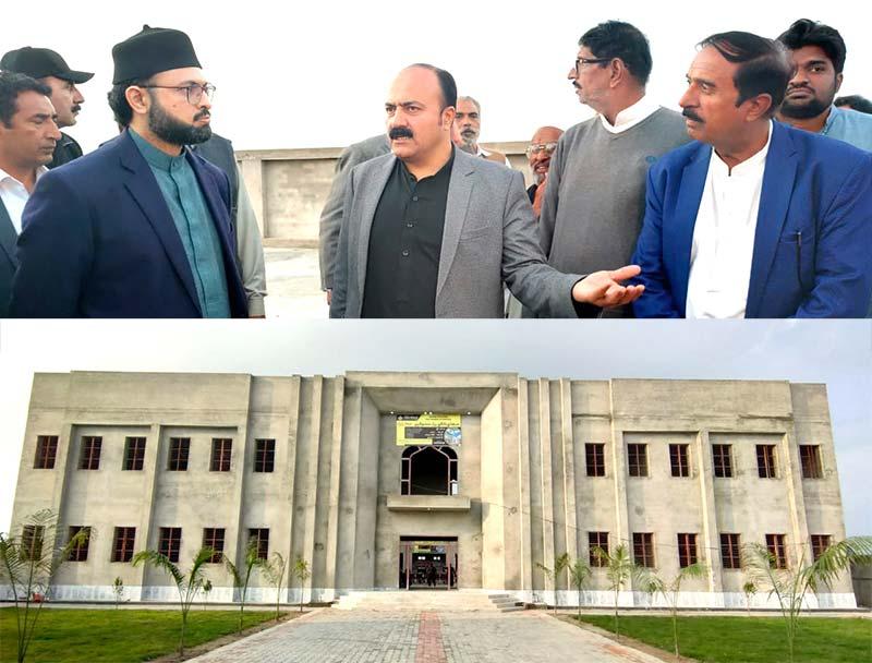 خانیوال: ڈاکٹر حسن محی الدین قادری کا منہاج گرلز کالج کا دورہ