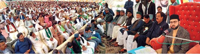 لودھراں: استحکام پاکستان کنونشن، شیخ الاسلام ڈاکٹر محمد طاہرالقادری اور ڈاکٹر حسن محی الدین قادری کا خطاب