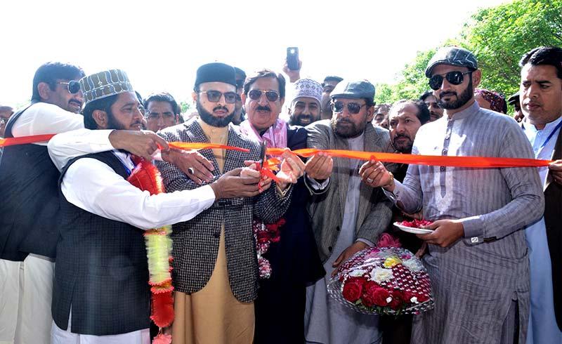 منہاج القرآن اسلامک سنٹر لودھراں کا افتتاح