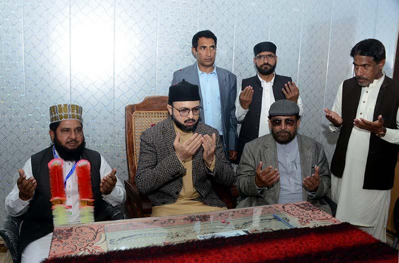 ڈاکٹر حسن محی الدین قادری کی چودھری عبد الغفار سنبل اور ملک انور قادری سے تعزیت