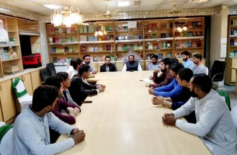 ایم ایس ایم کراچی کے سابق رہنماوں اور زونل ٹیم کا اجلاس