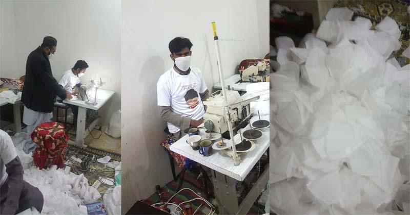 کورونا: منہاج ویلفیئر فاؤنڈیشن کی ایبٹ آباد شہر میں ماسک کی تقسیم