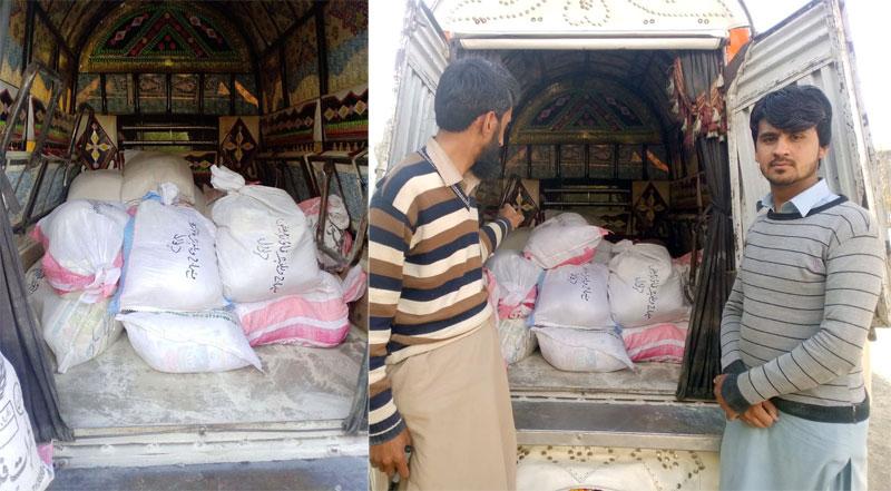 حویلیاں (ایبٹ آباد): منہاج ویلفیئر فاؤنڈیشن کی جانب سے راشن پیکجز کی تقسیم
