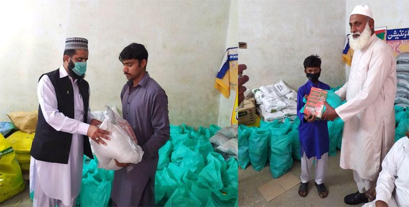 وادی سون (نوشہرہ): منہاج ویلفیئر فاؤنڈیشن کی جانب سے راشن پیکجز کی تقسیم