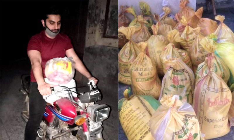 حافظ آباد: منہاج ویلفیئر فاؤنڈیشن کی جانب سے راشن پیکجز کی تقسیم
