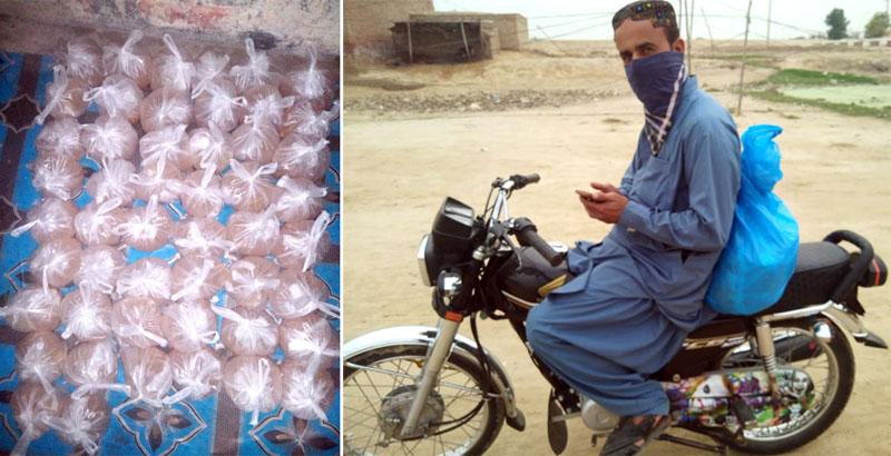 روجھان (راجن پور): منہاج ویلفیئر فاؤنڈیشن کی جانب سے راشن پیکجز کی تقسیم