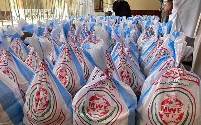 سیالکوٹ (پی پی 39): منہاج ویلفیئر فاؤنڈیشن کی جانب سے راشن پیکجز کی تقسیم