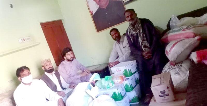 جڑانوالہ (فیصل آباد): منہاج ویلفیئر فاؤنڈیشن اور ایم ایس ایم کی جانب سے راشن پیکجز کی تقسیم