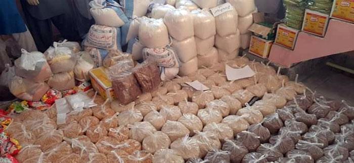 منڈی بہاؤالدین (بوہت یوسی): منہاج ویلفیئر فاؤنڈیشن کی جانب سے راشن پیکجز کی تقسیم