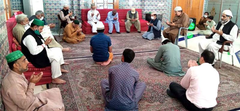 وباء سے نجات کیلئے منہاج القرآن کے گوشہ درود میں خصوصی دعا
