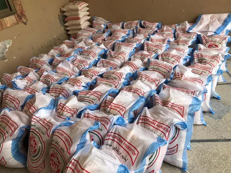سیالکوٹ (پی پی 38): منہاج ویلفیئر فاؤنڈیشن کی جانب سے راشن پیکجز اور نقدی سینکڑوں مستحق گھرانوں میں تقسیم