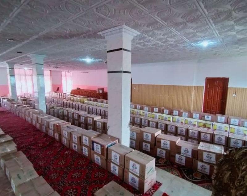 میرپور (آزاد کشمیر): منہاج ویلفیئر فاؤنڈیشن کی جانب سے مستحق گھرانوں میں 850 راشن پیکجز تقسیم