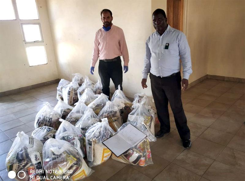 منہاج ویلفیئر فاؤنڈیشن ساؤتھ افریقہ کے زیراہتمام راشن کی تقسیم