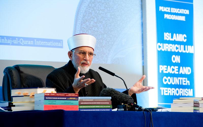 اسلام دین امن و رحمت ہے: ڈاکٹر طاہرالقادری