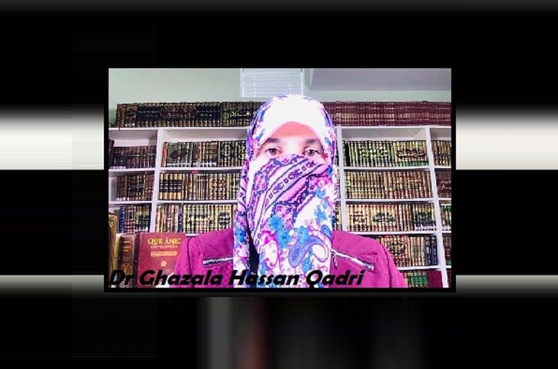 AL-Nasiha Lecture Series: Dr. Ghazala Hassan Qadri speaks on 'Strengthening the family units'