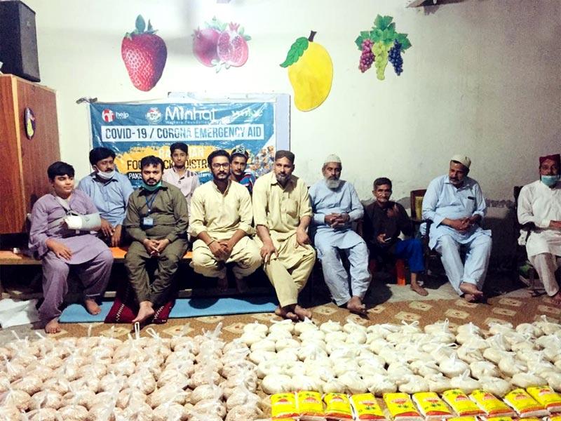 سرگودھا: منہاج ویلفیئر فاؤنڈیشن کی جانب سے منہاج رمضان راشن پیکجز کی تقسیم