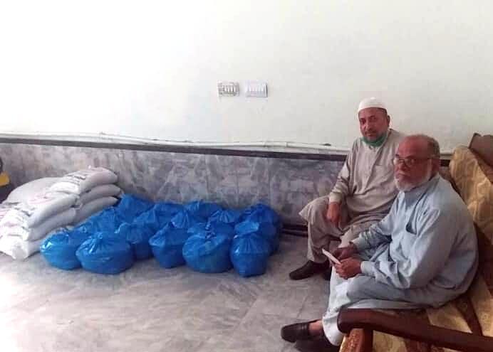 لاہور (پی پی 154): منہاج ویلفیئر فاؤنڈیشن کی جانب سے منہاج رمضان راشن پیکجز کی تقسیم